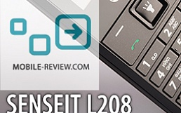 Обзор SENSEIT L208 от mobile-review.com